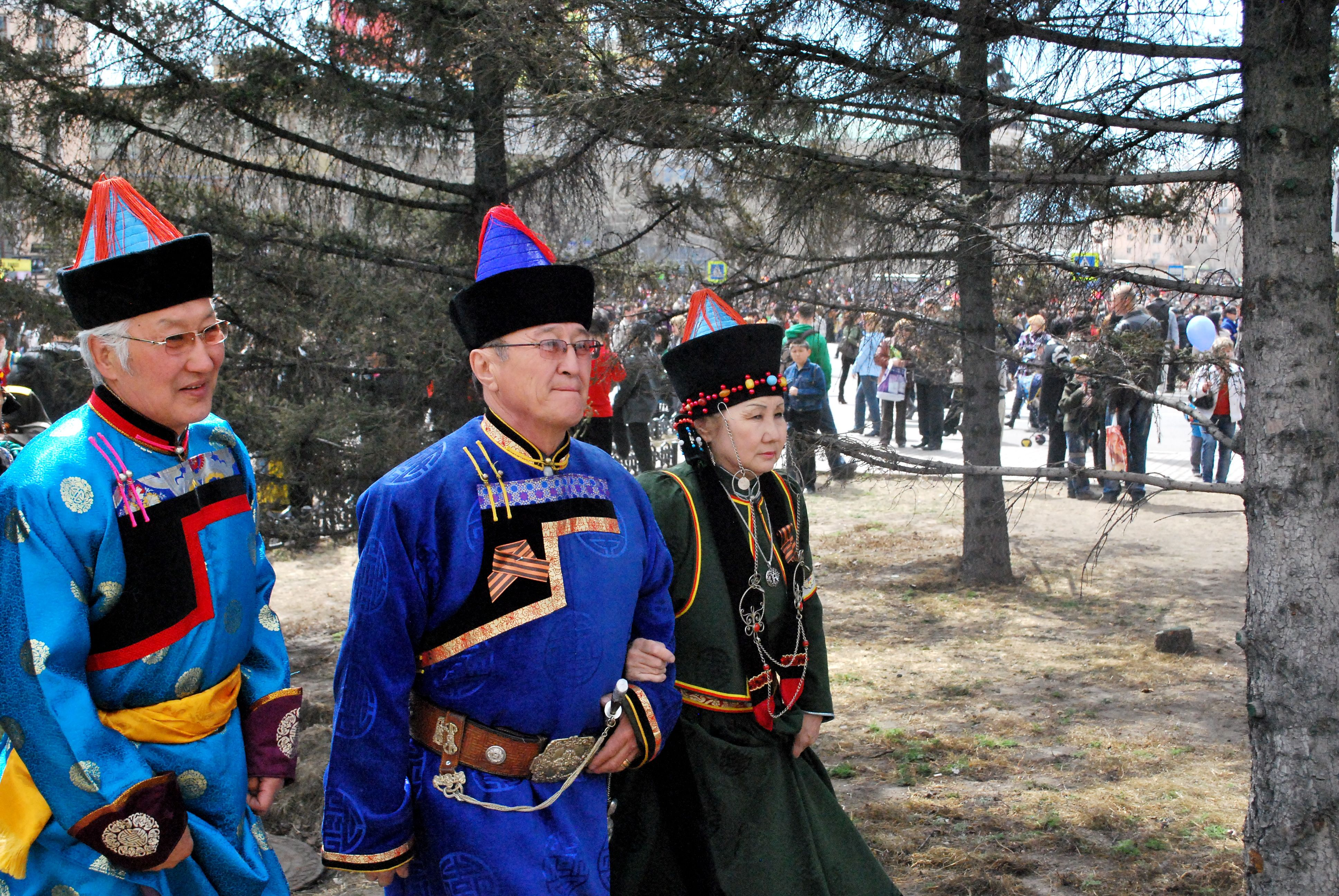 Traditions of the Buryat people: between East and West 61