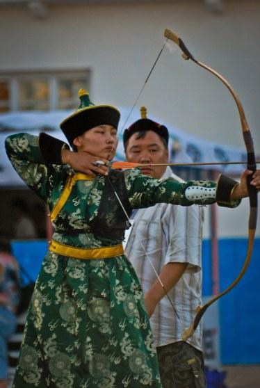 Buryat, Archer, Archery, Siberia, Altargana