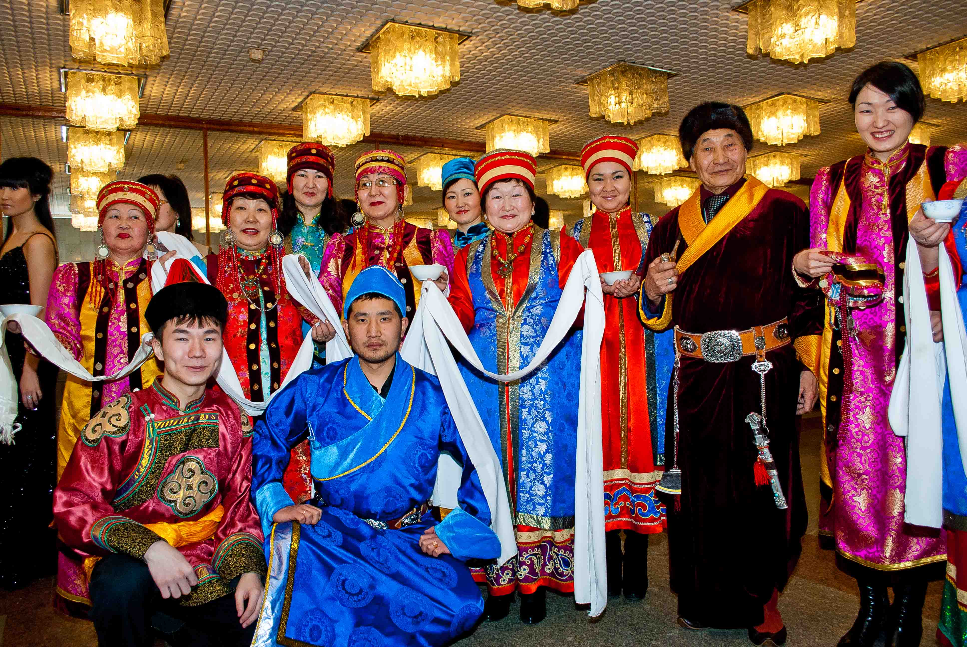 Traditions of the Buryat people: between East and West 11