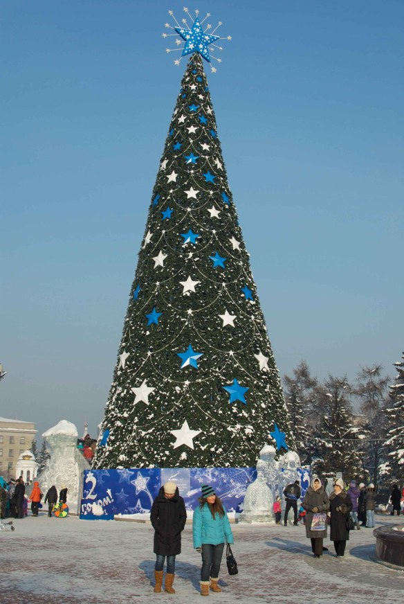 Christmas Tree in Irkutsk 2011-2012