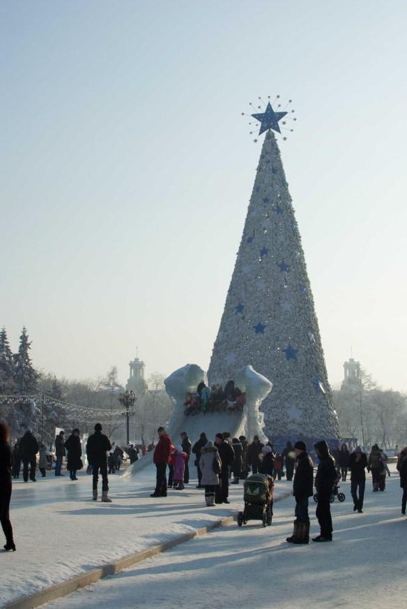 Ice Slide, Irkutsk
