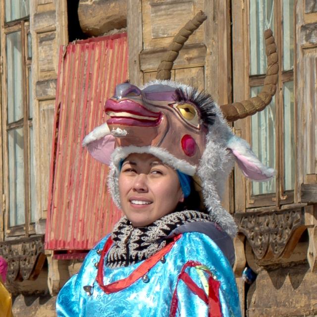 Siberian Goat-Girl