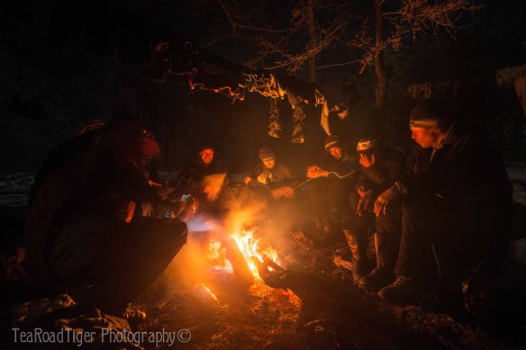 This campfire made the 60 mile trans-Baikal trek worth it. Share a laugh with us!