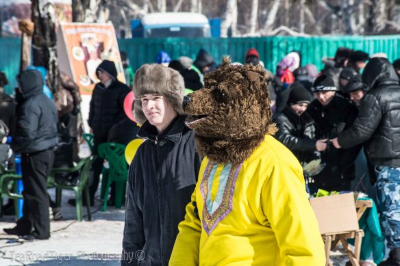 DO bears walk the streets of Siberia?