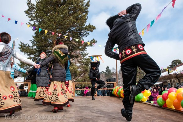 Kickin' it Cossack style!