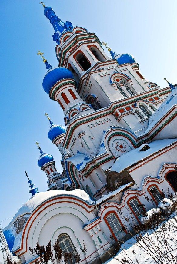 Orthodox church in Irkutsk.
